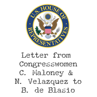 Letter from US Congresswomen