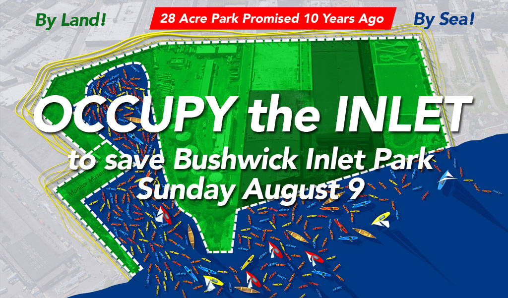 Occupy the Inlet