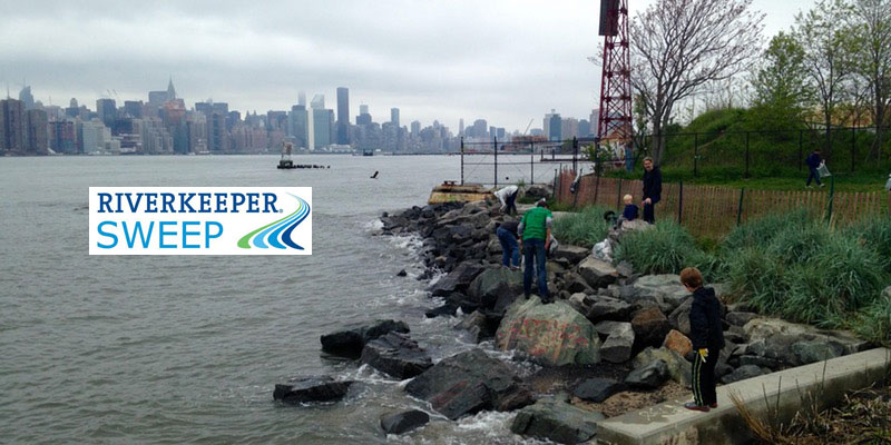 Riverkeeper Sweep at Bushwick Inlet Park 2017